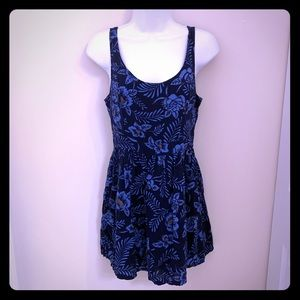 Hollister Blue Floral Print Mini Dress 7